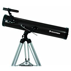 Celestron 21044 76 mm PowerSeeker Reflector Telescope