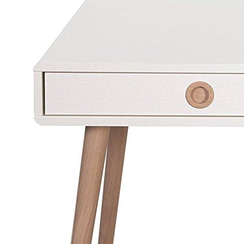 "Buy Steens ""Softline"" Standard Desk, Wood, White on Amazon"
