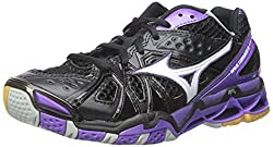 Mizuno Wave Tornado 9 Women Us 10.5 Black Sneakers