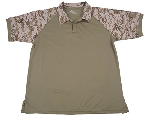 MAGCOMSEN Herren Poloshirt Camo with Khaki