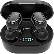 Wireless Earbuds Bluetooth 5.0, Earbuds Bluetooth, Earbuds with Charging Case, waterproof Earbuds, Noise Cance