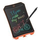 JRD&BS WINL Bunte LCD Elektronische Schreibtafel Spielzeug 4-9 Jahre Alter Junge, Teen Girl Geburtstagsgeschenk, 8.5 Zoll Familie Und Outdoor Handgeschriebenes Papier Zeichenbrett Orange