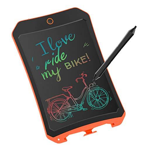 JRD&BS WINL Bunte LCD Elektronische Schreibtafel Spielzeug 4-9 Jahre Alter Junge, Teen Girl Geburtstagsgeschenk, 8.5 Zoll Familie Und Outdoor Handgeschriebenes Papier Zeichenbrett Orange (Spielzeug Alten Jahre Jungen, 9)