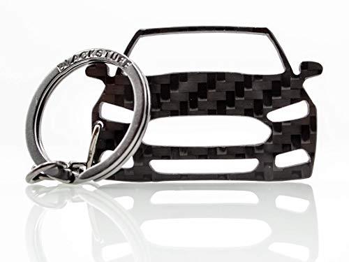 BlackStuff Portachiavi In Fibra Di Carbonio Compatibile Con Kia Sportage 2010-2015 BS-729