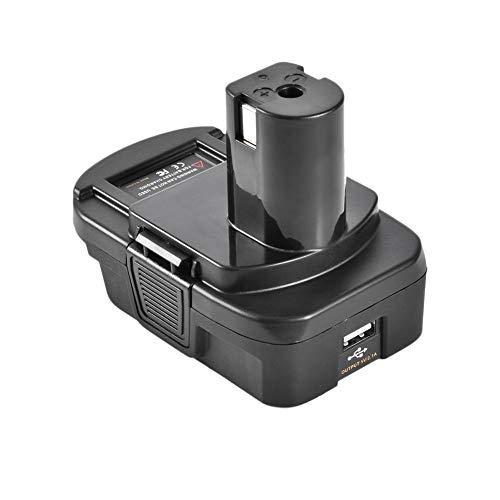 Gighlofe USB Akku Konverter Adapter Lithium und Nickel Power Kamera Akku kann für Ladegerät für Smartphone verwendet Werden Usb-telefon-jack