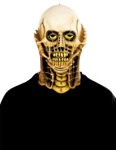 Jukebox Retro Latex Maske Halloween Kostueme Maske Gesicht Maske Over-the-Head-Maske Kostuem Stuetze Scary Creepy Schreckliche Maske Latex Maske fuer Maskerade Make-up (Clown Kostüme Damen Scary)