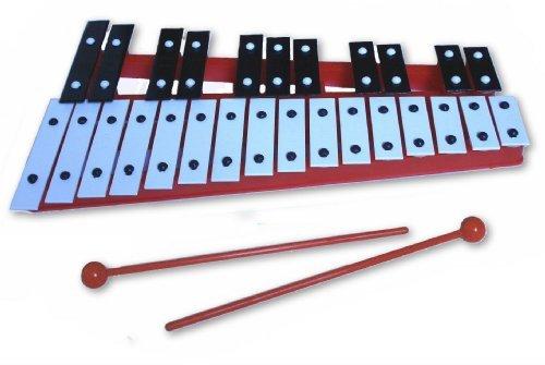 27 Schlüssel Chromatische carillon Xylophon (Rot)