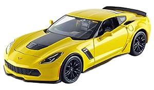 Maisto-31133bl-Chevrolet Corvette Z06-2015-Escala 1/24