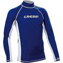 Cressi Lycra Skin Long Sleeve Rash Guard, Uomo - Large