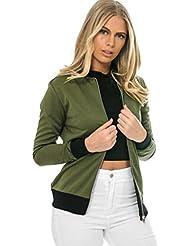 FEITONG Manga larga para mujer Blazer chaqueta del juego de capa ocasional Outwear