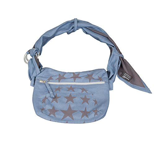 Hoppediz Tas-h-los-bla Hip Bag Los Angeles, blau (Fleece Gefärbt Aus)