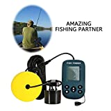 Alian - Pêche Portable Fish Detector Deep Sonar with Wired Sensor 0.7m-100m Sonar
