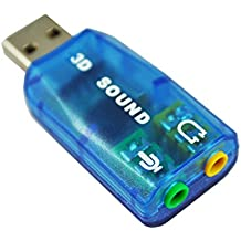 SODIAL(TM) Scheda audio esterna USB 2.0 virtual 5.1-surround