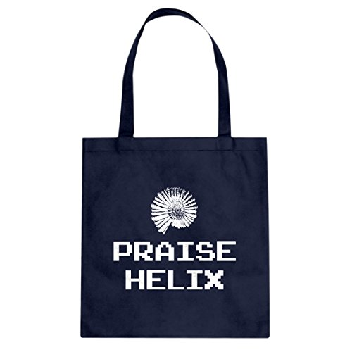 Indica Plateau Praise the Lord Helix Canvas Tote Bag