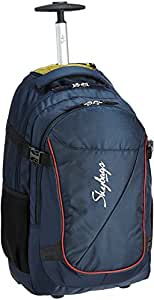 Skybags 40 Ltrs Blue Laptop Trolley Backpack (STOUTBPBLU)