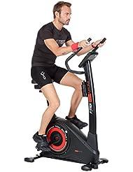 Fytter RA-07R - Bicicletas estáticas y de spinning para fitness, color negro