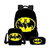 Zaini per Bambini Fashion Cartoon Schoolbag Superman Battaglia Batman Rucksack Pacchetto per Le Scuole Primarie E Secondarie 3