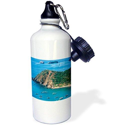 statuear-bay-margarita-island-aluminum-20-ounce-600ml-sports-water-bottle-gift