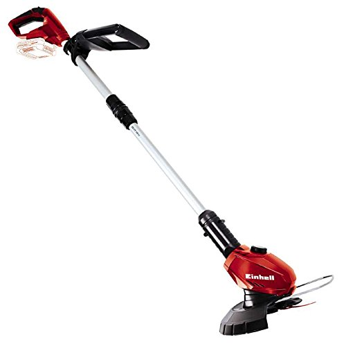 Einhell cordless lawn trimmer GE-CT 18 Li-Solo Power X-Change (Li-Ion, 18 V, 24 cm cutting width, 8500 rpm, rotatable and tiltable motor head, Flowerguard, without battery and charger)