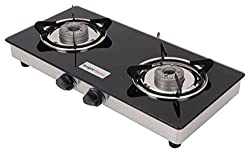 Brightflame Glass 2 Burner Cook Top use with PNG/PIPE GAS CONNECTION Only.