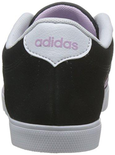 adidas Courtset W, Scarpe da Ginnastica Donna Nero (Negbas/Orqcla/Ftwbla)