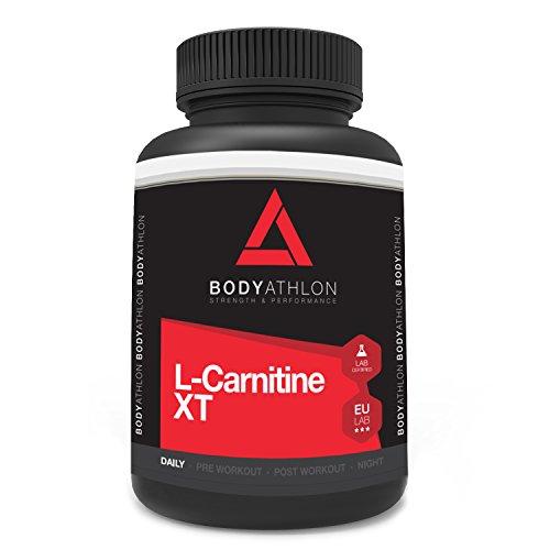 Bodyathlon L-Carnitin Hochdosiert XT - 90 kapseln 750 mg - Fat Burner Extreme