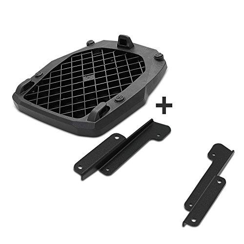 Preisvergleich Produktbild Givi Topcase Träger Monokey Suzuki Burgman 400 07-16 schwarz mit spezifischer Adapterplatte