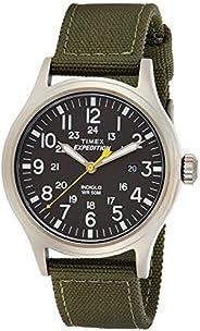 Timex Mens Quartz Watch, Analog Display And Textile Strap - T49961