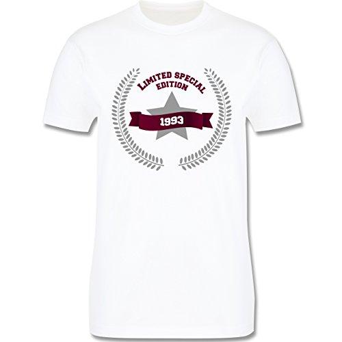 Geburtstag - 1993 Limited Special Edition - Herren Premium T-Shirt Weiß