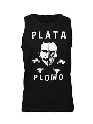 strange-plata-o-plomo-artwork-mens-tank-top-shirt-large