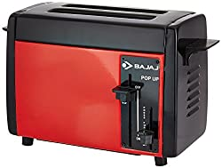 Bajaj Pop Up Toaster Manual Operation (Red)