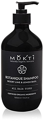Mukti Organics - Organic / Vegan Botanique Shampoo (17.6 fl oz / 500 ml)