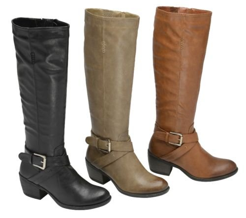 Femme Bottes Manfield/Dolcis Marron Noir Taupe Bordeaux brun clair Manfield Riding Boot Taupe