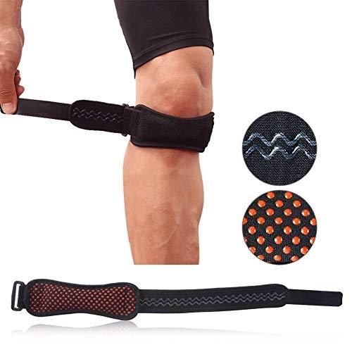 Kniescheibe der Patella, Silikon-Knie-Stützauflage-Sport-Sehnen-Klammer Breathable Knie-Schmerzlinderungs-Schutz-Band