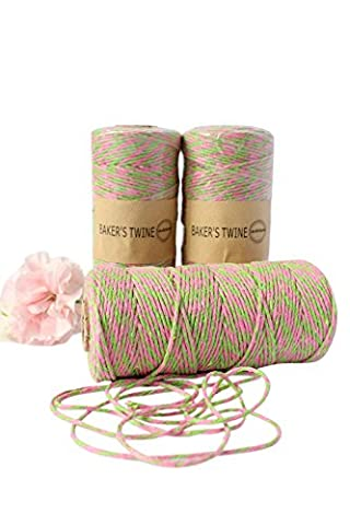 Bakers Twine 8ply Cotton String Divine Spool 135 Meter Roll