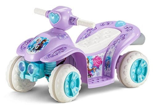Kid Trax Frozen 6V Toddler Quad Ride On by Kid Trax