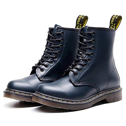 QPDUBB Stivaletti Stivali da Uomo per Martin Stivali da Uomo Scarpe da Uomo Dr Stivali da Moto Stivaletti Caldi Scarpe Invernali Scarpe da Uomo Taglie Forti 47 48