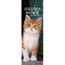 Katzen Lesezeichen & Kalender - Kalender 2018