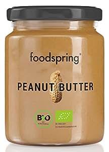 foodspring, Bio Erdnussbutter, 250g
