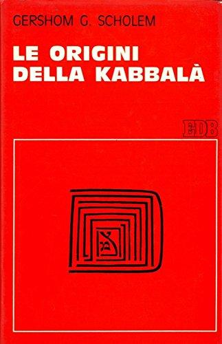 Le origini della Kabbala'.