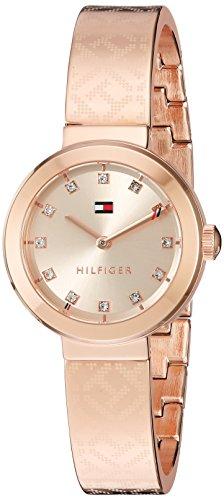 Tommy Hilfiger de oro de cuarzo Casual reloj para mujer (modelo: 1781715)