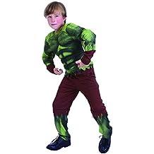 Disfraz niño Hulk - talla 4 - 6 años (110-120CM)