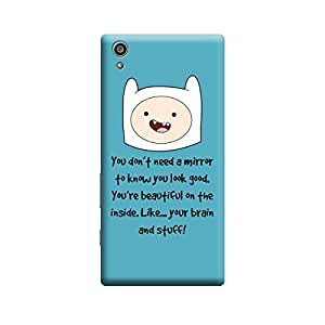 Ebby Premium Printed Back Case Cover With Full protection For Samsung Galaxy S6 (Designer Case)