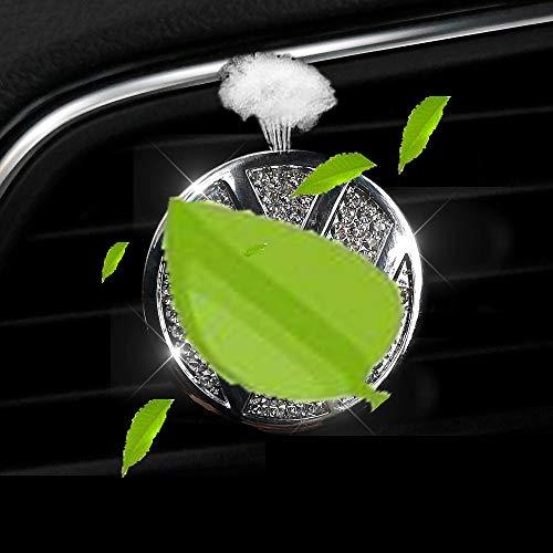 VILLSION Auto Logo Deodorante Vent Clip Fragranza Profumo Deodorante per Auto Accessori con Confezione Regalo