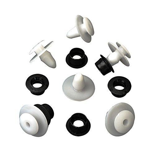 Preisvergleich Produktbild Verkleidungsclips Befestigungsteile Clips mit Dichtung 10 Stück