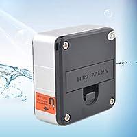 Lorenlli Inclinómetro Digital de precisión Goniómetros de electrones 360 Grados Base magnética Transportador Digital Ángulo Buscador de ángulos Caja