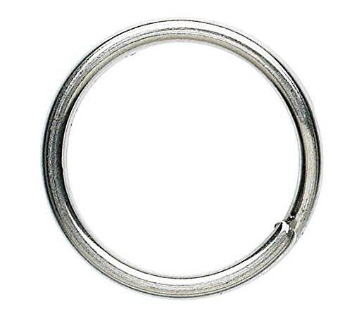 Okuma Splitring forjado acero de 6mm–10piezas