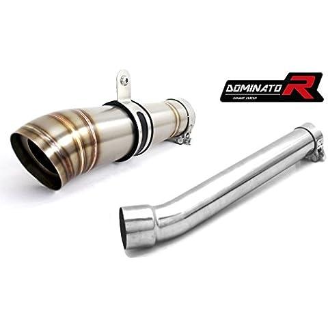 Dominator Exhaust silenziatore scarico SUZUKI GSXR 1000 K5-K6 05-06 + DB KILLER (GP II)