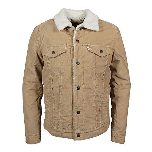 Klassische Klappe Tasche Jeans (Levi's® Sherpa Trucker Jacket - Cord - gefüttert - True Chino (3XL))