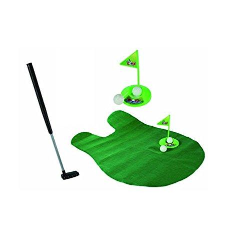 Juneping WC Golf Game Putter Putting-Matte Golf Mini WC Golf Spiel Spielzeug